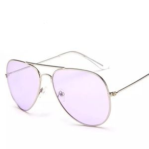 Accessories - Purple Aviator Pilot Sunglasses